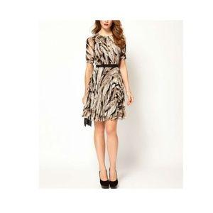 Karen Millen Feather print dress